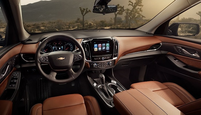 Dubuque Iowa - 2019 Chevrolet Traverse Interior