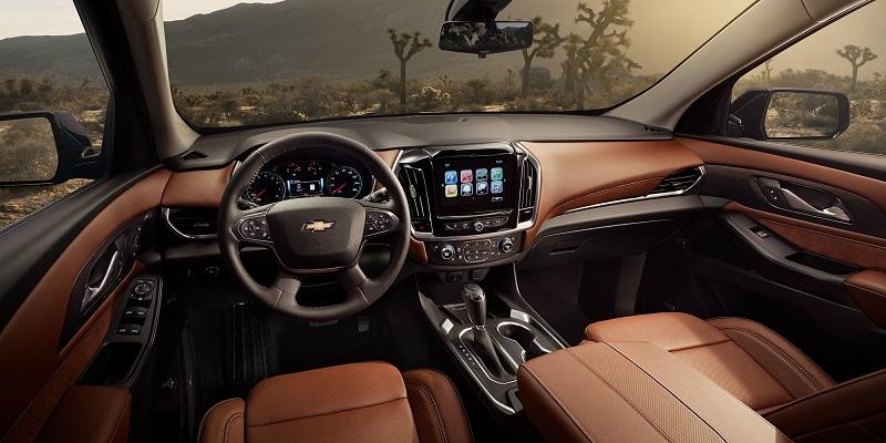 Maquoketa IA - 2019 Chevrolet Traverse Interior