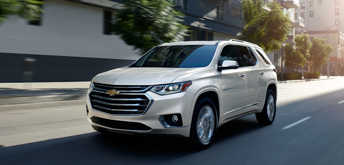 Exterior - 2019 Chevrolet Traverse near Davenport Iowa
