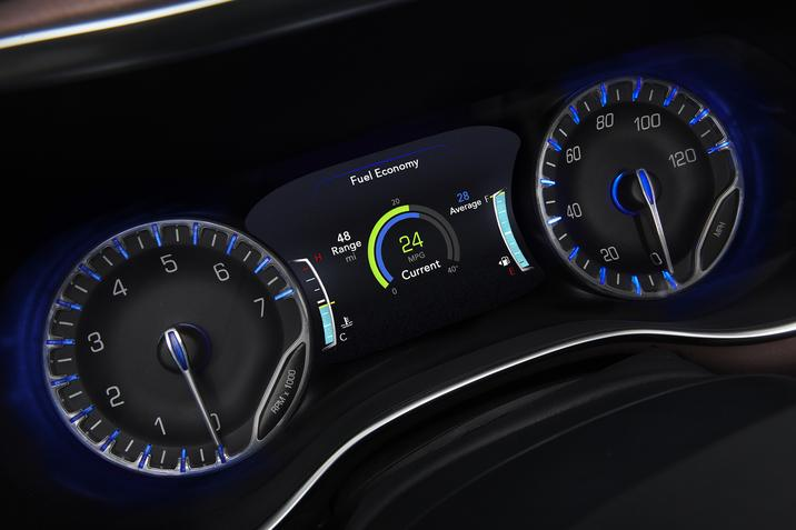 Bettendorf IA - 2019 Chrysler Pacifica Dash