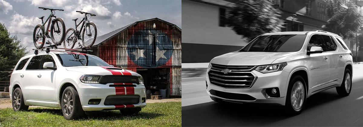 2019 Dodge Durango vs 2019 Chevrolet Traverse - Albuquerque NM