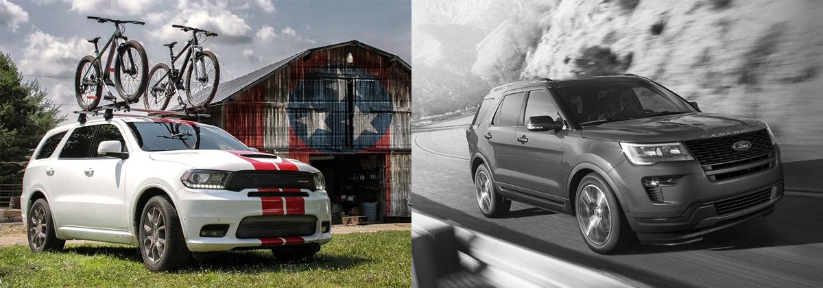 2019 Dodge Durango vs 2019 Ford Explorer - Albuquerque NM