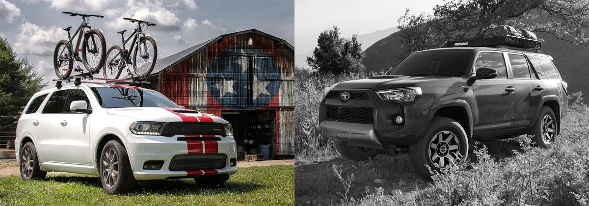 2019 Dodge Durango vs 2019 Toyota 4Runner in Lexington NC
