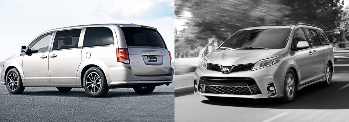 2019 Dodge Grand Caravan vs 2019 Toyota Sienna in Lexington NC