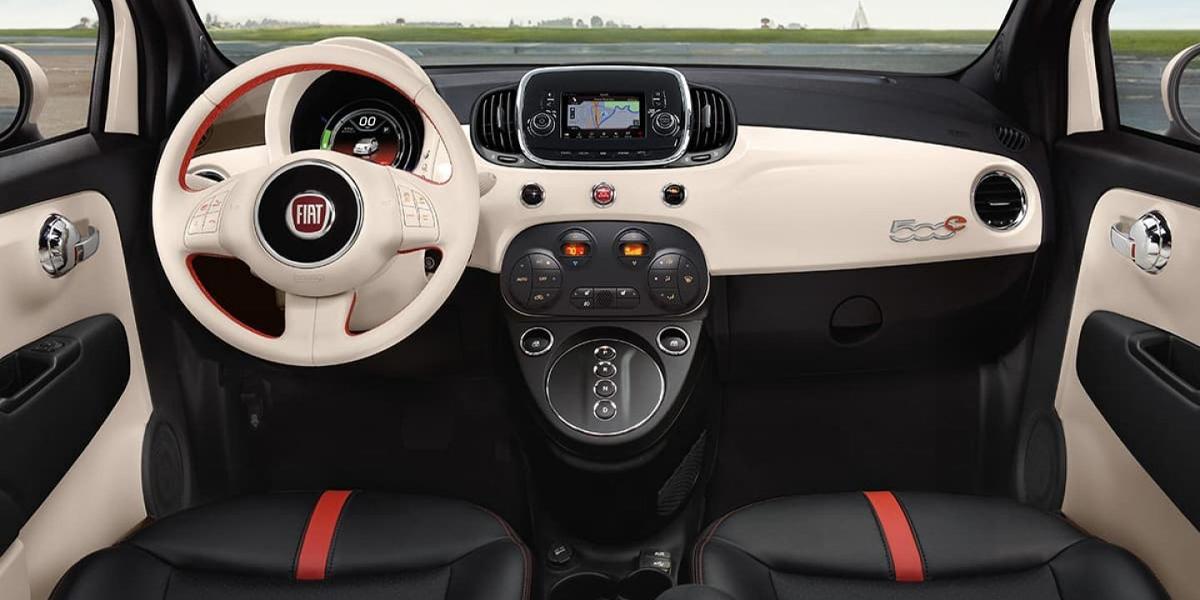 Albuquerque NM - 2019 FIAT 500e's Interior