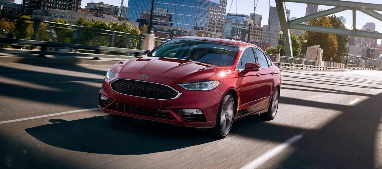 Exterior 2019 Ford Fusion for Sale near Davenport IA