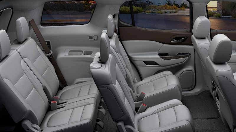 Quad Cities IA - 2019 GMC Acadia's Interior