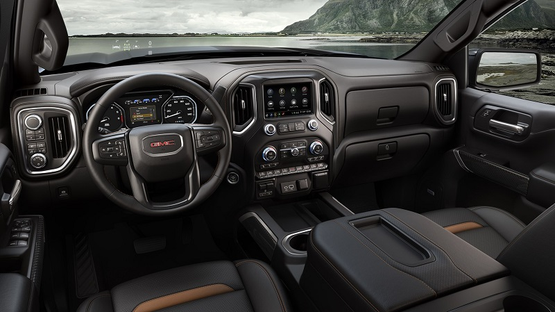 Colorado Springs CO - 2019 GMC Sierra AT4's Interior