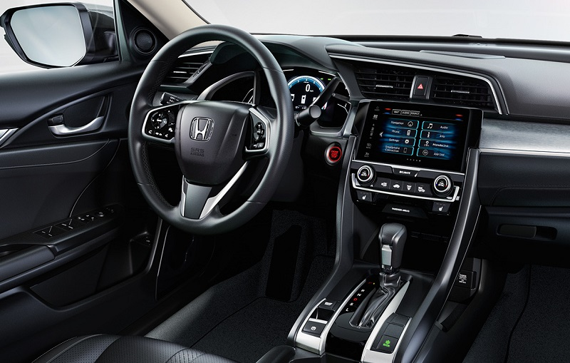 Highlands Ranch CO - 2019 Honda Civic Sedan's Interior
