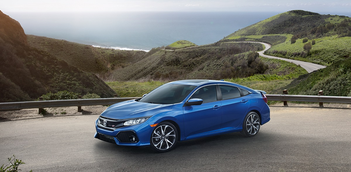 Exterior 2019 Honda Civic Sedan near Des Moines Iowa