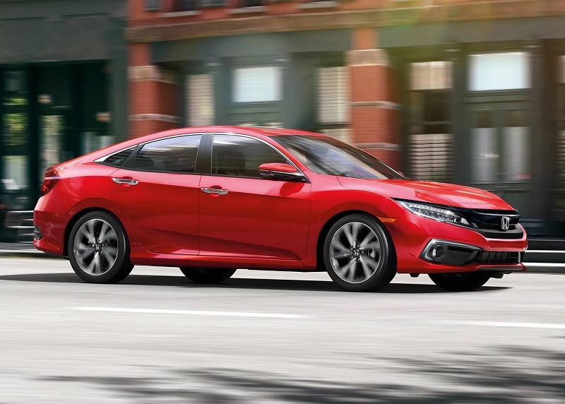 West Burlington IA - 2019 Honda Civic Exterior
