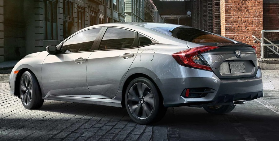Aurora CO - 2019 Honda Civic Sedan's Exterior