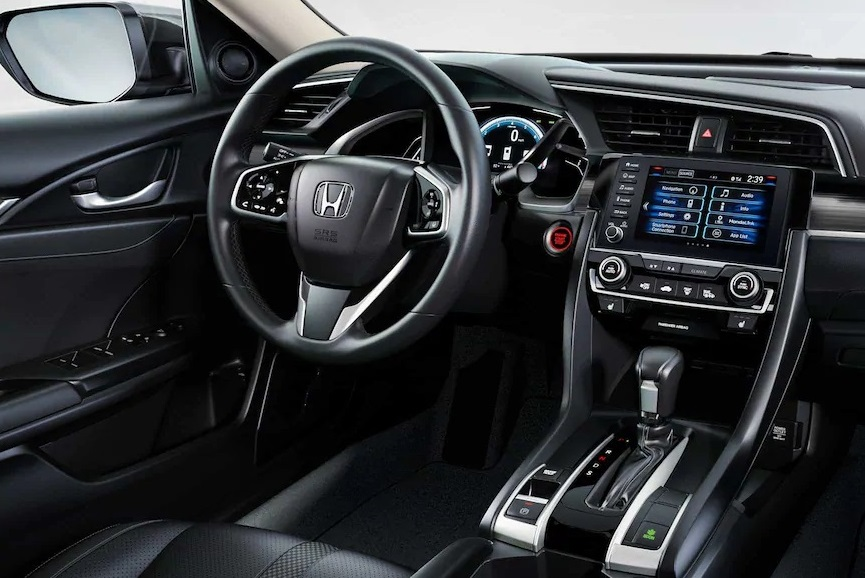 West Burlington IA - 2019 Honda Civic Sedan Interior