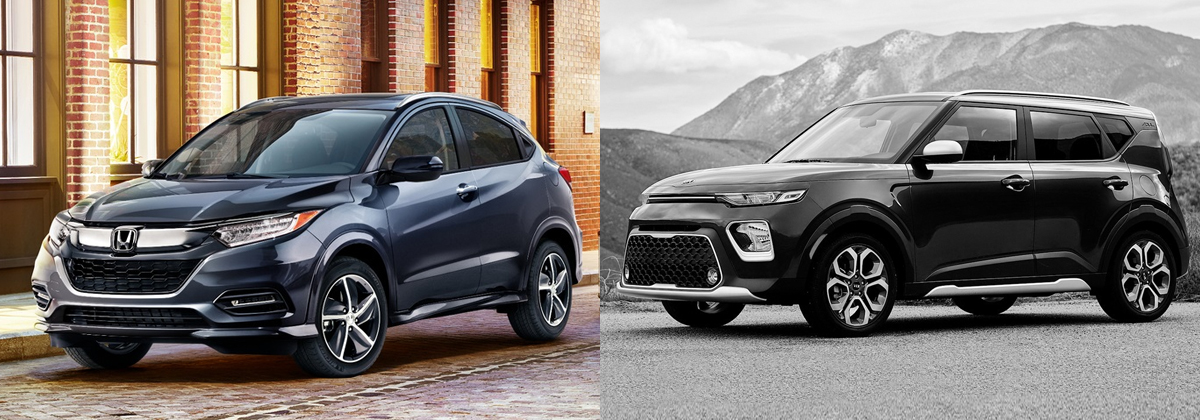 2019 Honda HR-V vs 2020 Kia Soul in West Burlington Iowa