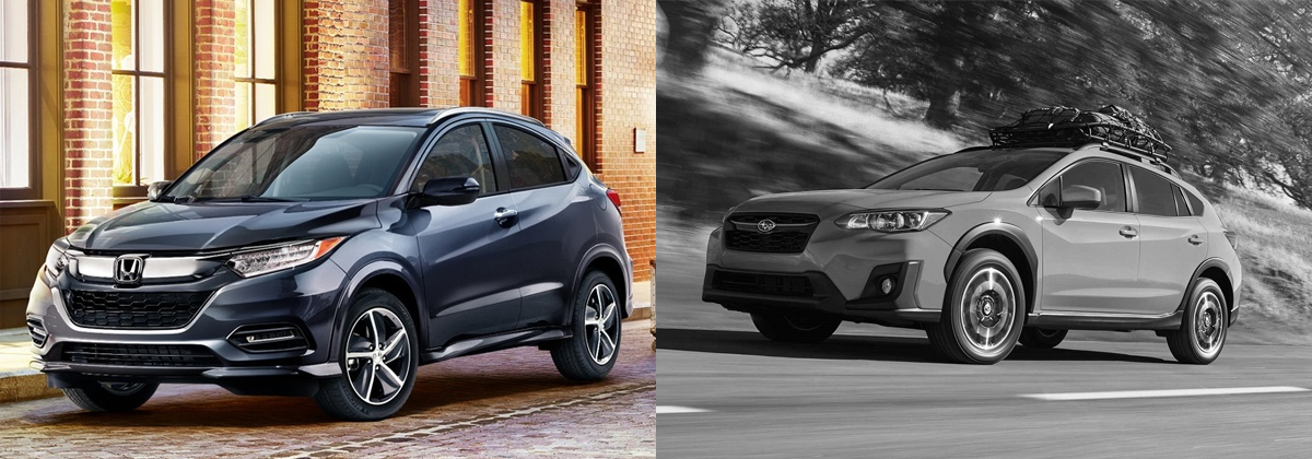 Why 2019 Honda HR-V vs 2019 Subaru Crosstrek - Kuni Honda