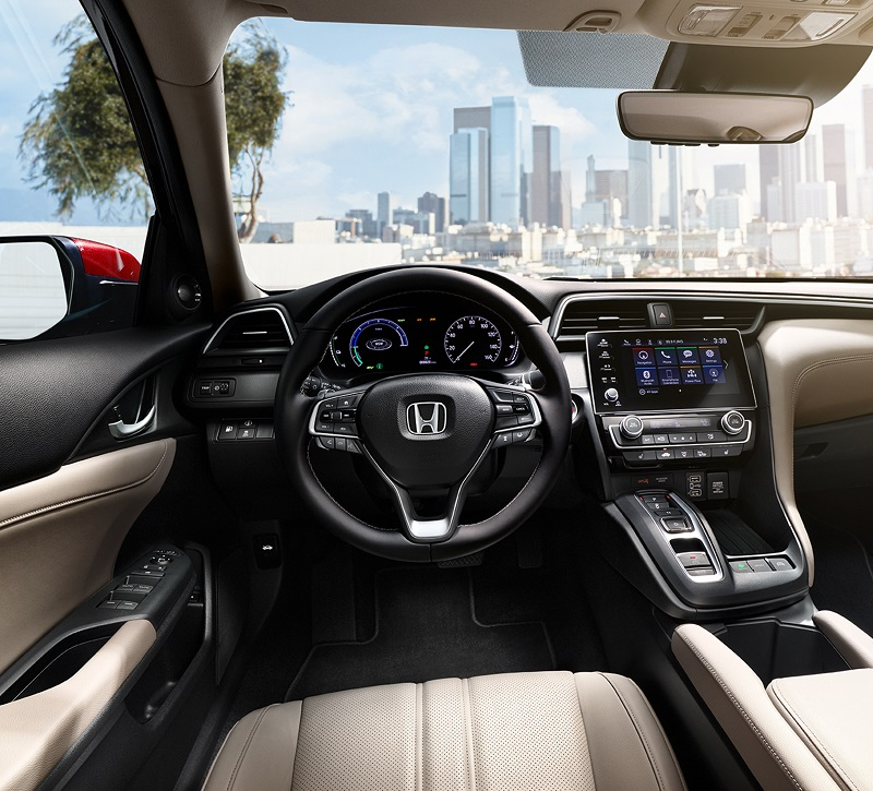 Iowa Review - 2019 Honda Insight Hybrid Interior