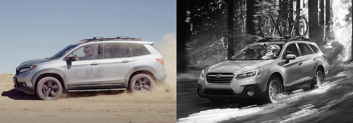 Why 2019 Honda Passport vs 2019 Subaru Outback - Kuni Honda