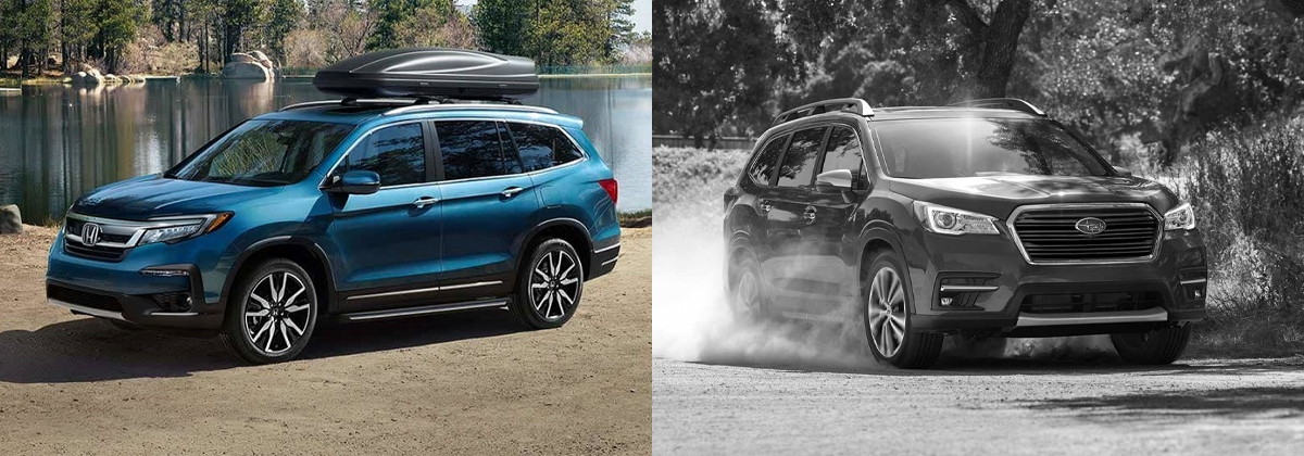 Why 2019 Honda Pilot vs 2020 Subaru Ascent - Kuni Honda