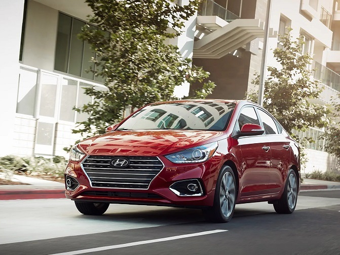 Glassman Collision Center in Southfield Michigan - 2019 Hyundai Accent