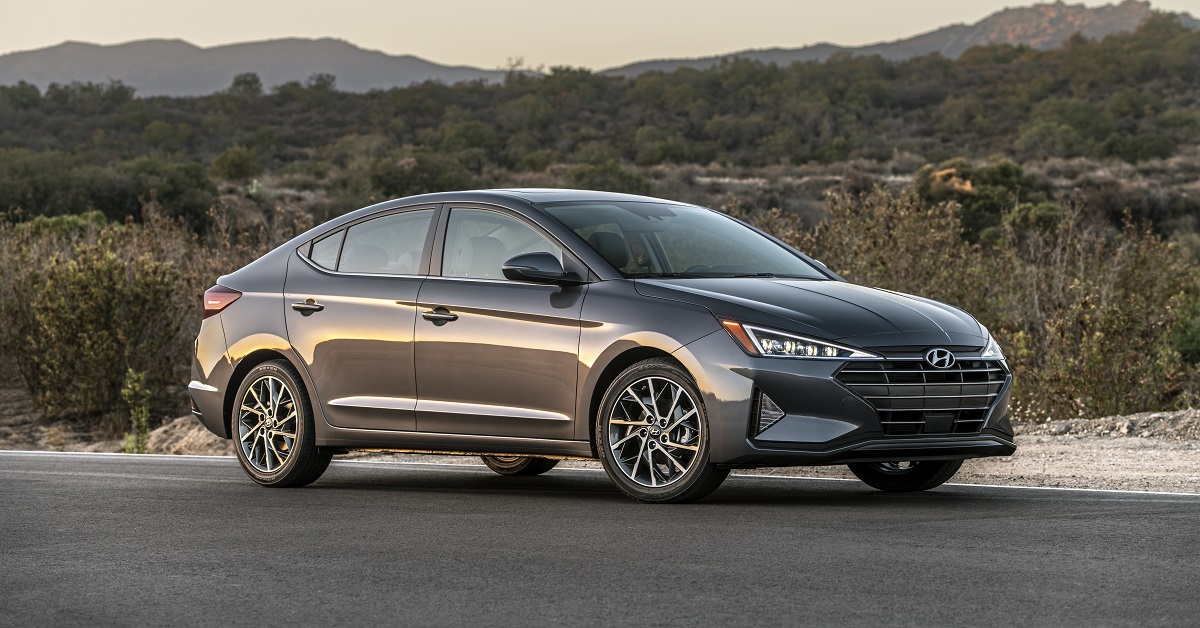 2019 Hyundai Elantra lease and specials in North Kingstown Rhode Island