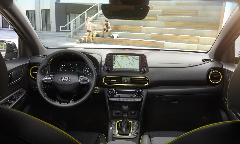North Kingstown RI - 2019 Hyundai Kona's Interior