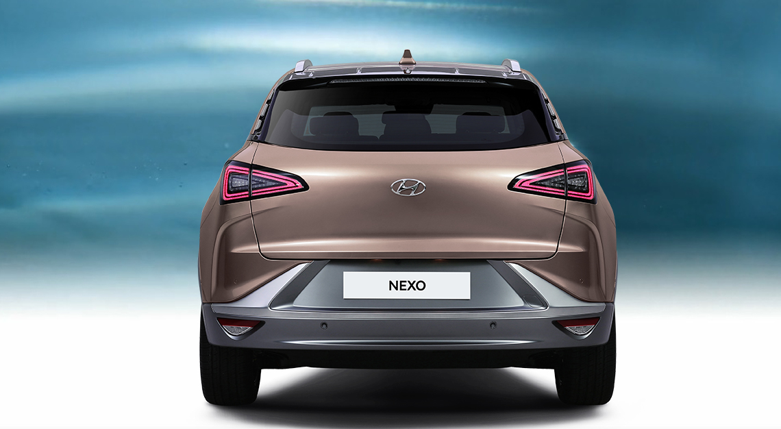 Michigan NEWS - 2019 Hyundai Nexo Fuel Cell's Exterior