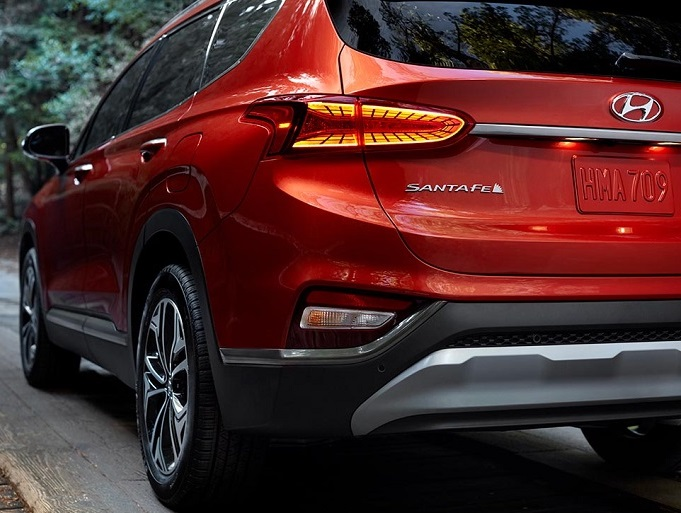 Golden CO - 2019 Hyundai Santa Fe's Exterior