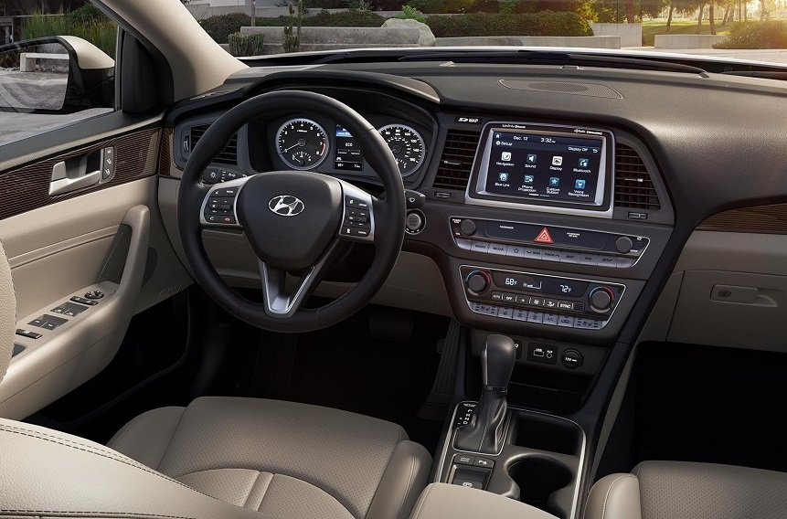 Fall River MA - 2019 Hyundai Sonata's Interior