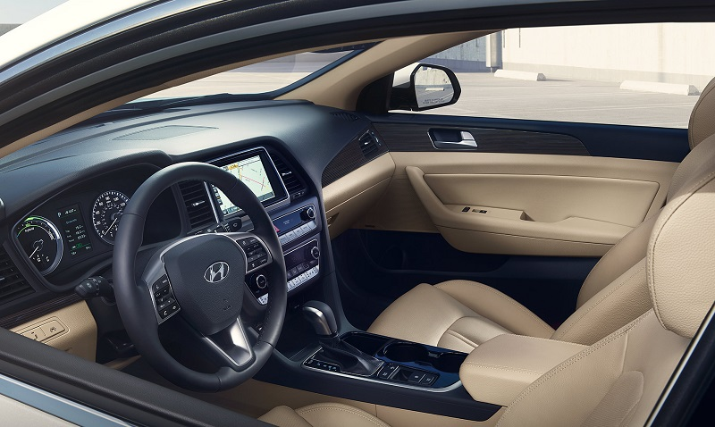 Johnston RI - 2019 Hyundai Sonata Hybrid's Interior