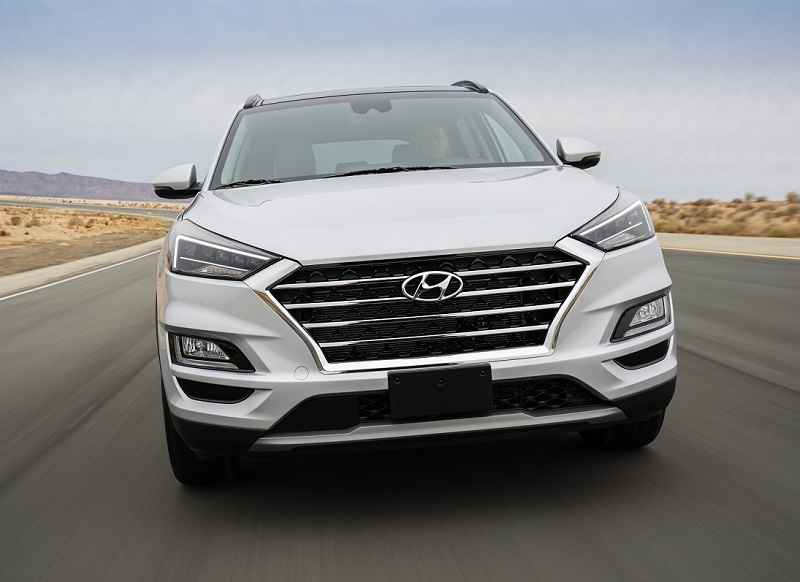 Colorado Springs CO - 2019 Hyundai Tucson's Exterior