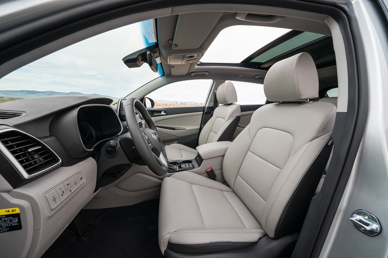 Colorado Springs CO - 2019 Hyundai Tucson's Interior