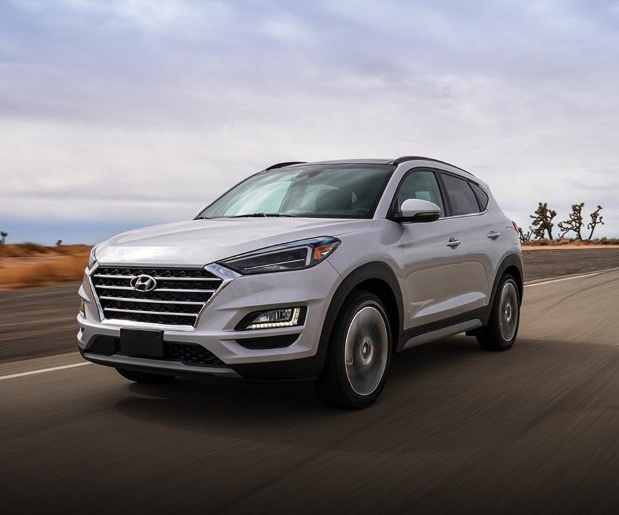 North Kingstown RI - 2019 Hyundai Tucson's Exterior