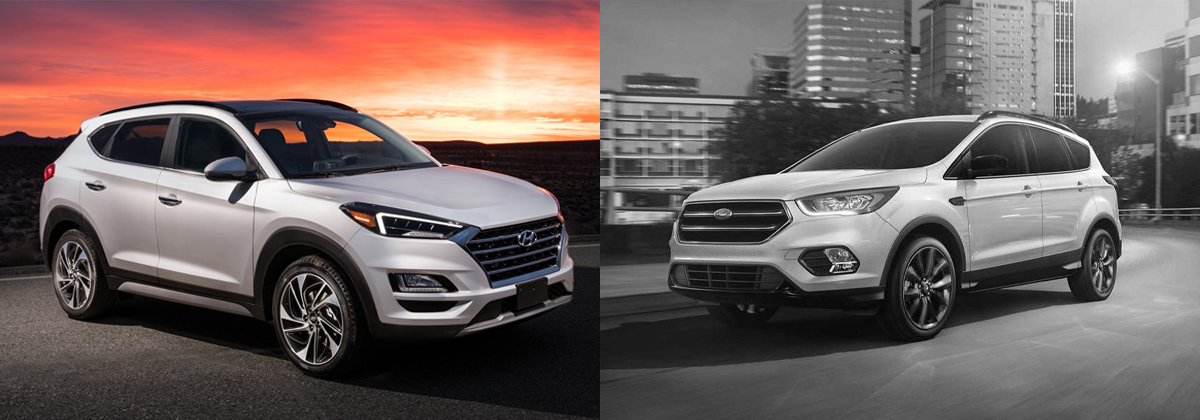 2019 Hyundai Tucson vs 2019 Ford Escape - Rhode Island