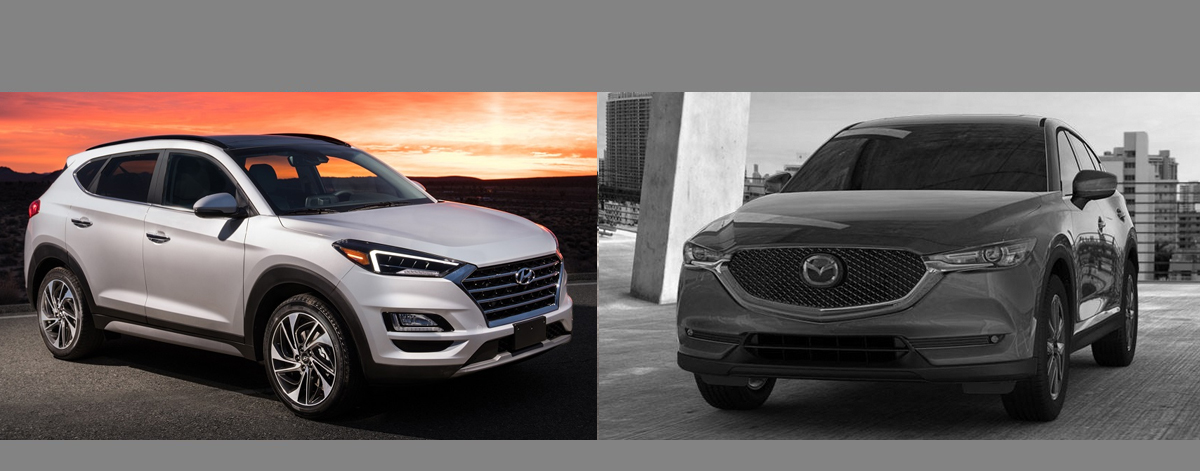 2019 Hyundai Tucson vs 2018 Mazda CX-5 | Centennial CO