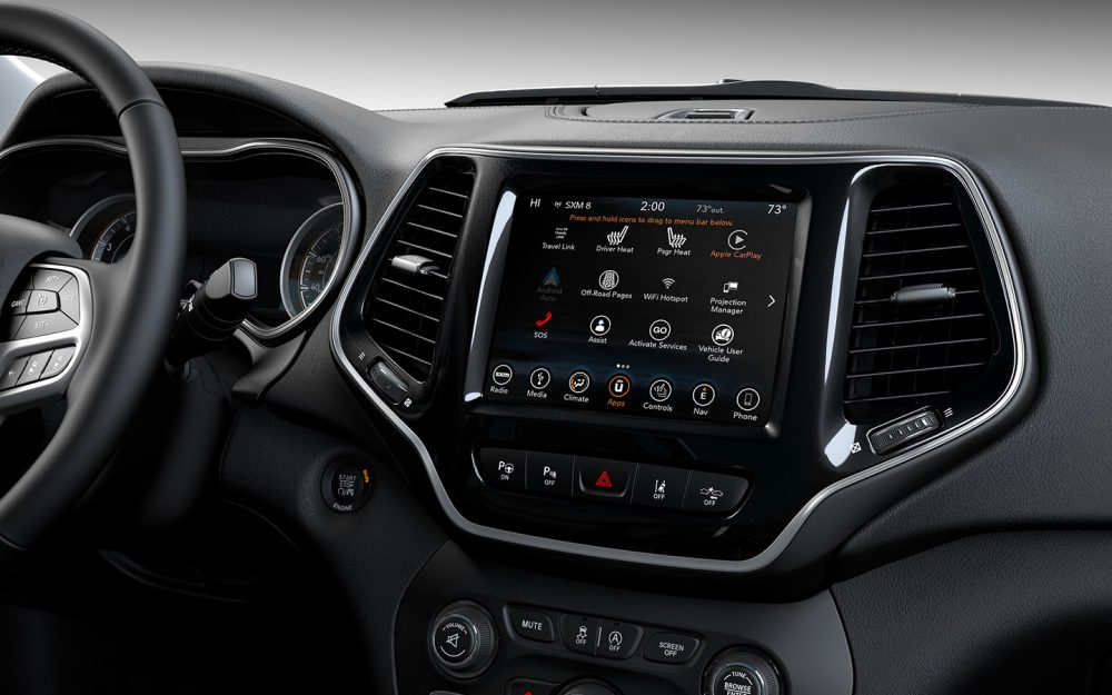 Marion IN - 2019 Jeep Cherokee's Interior