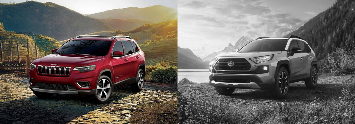 2019 Jeep Cherokee vs 2019 Toyota RAV4 - Lexington NC