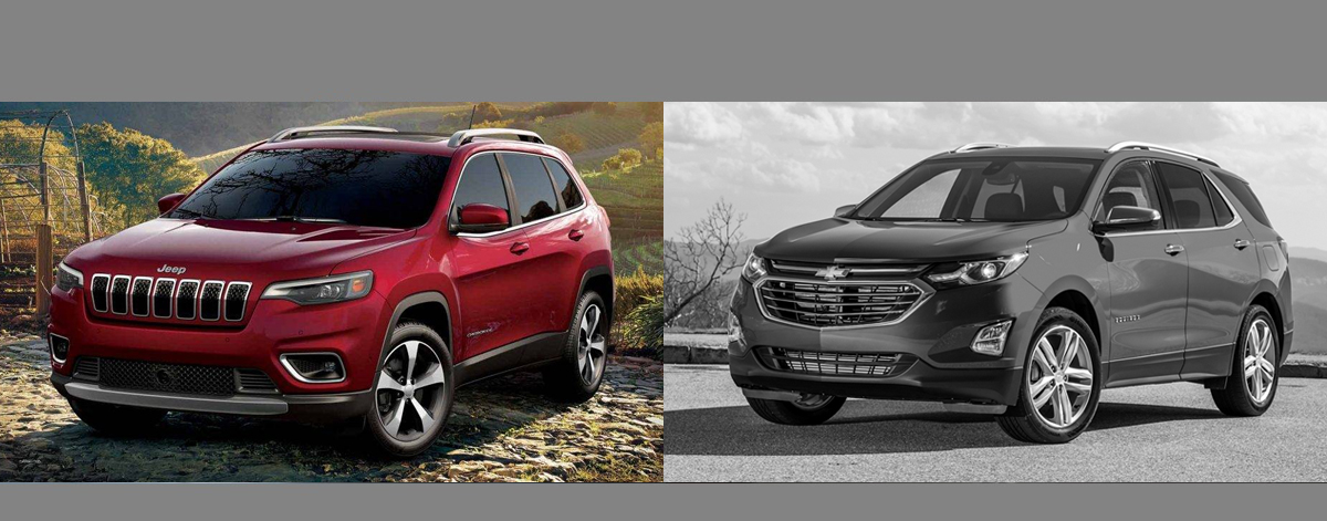 2019 Jeep Cherokee vs 2019 Chevrolet Equinox | Wabash IN
