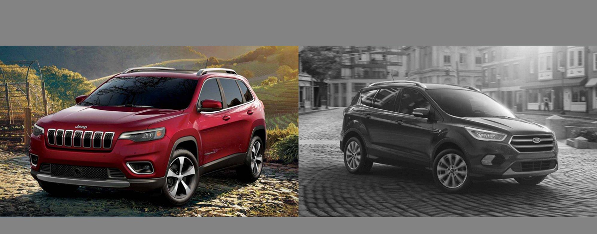 2019 Jeep Cherokee vs 2019 Ford Escape - Lexington NC