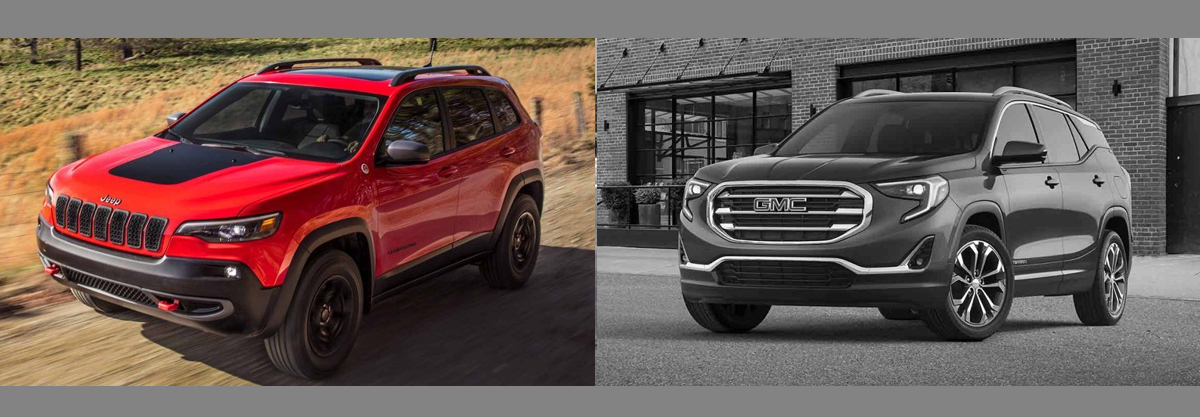 2019 Jeep Cherokee vs 2018 GMC Terrain | Boulder CO