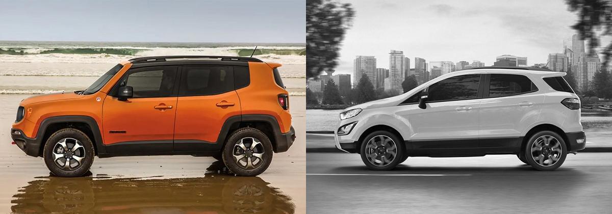 2019 Jeep Renegade vs 2019 Ford EcoSport - Longmont Area