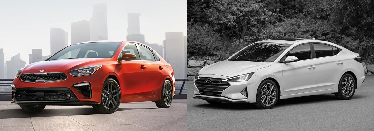 2019 Kia Forte vs 2019 Hyundai Elantra in Burlington NC