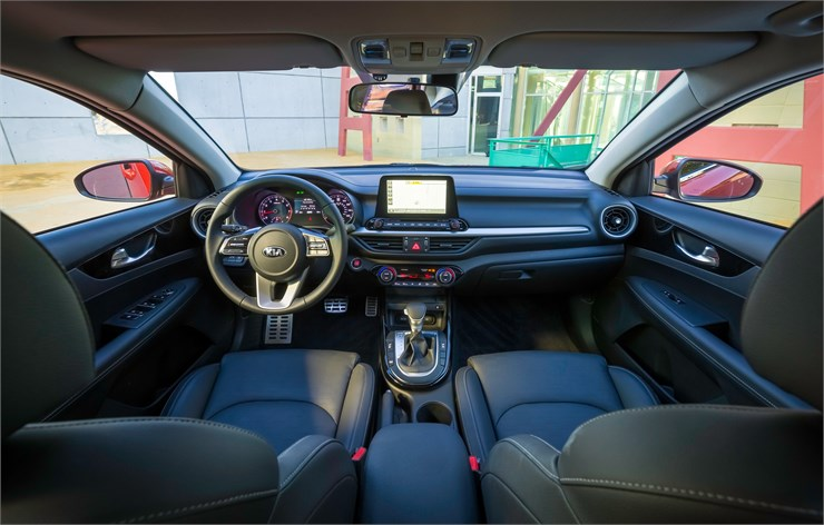 Littleton Area - 2019 Kia Forte's Interior