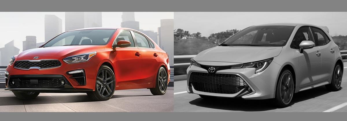 2019 KIA Forte vs 2019 Toyota Corolla Greensboro NC