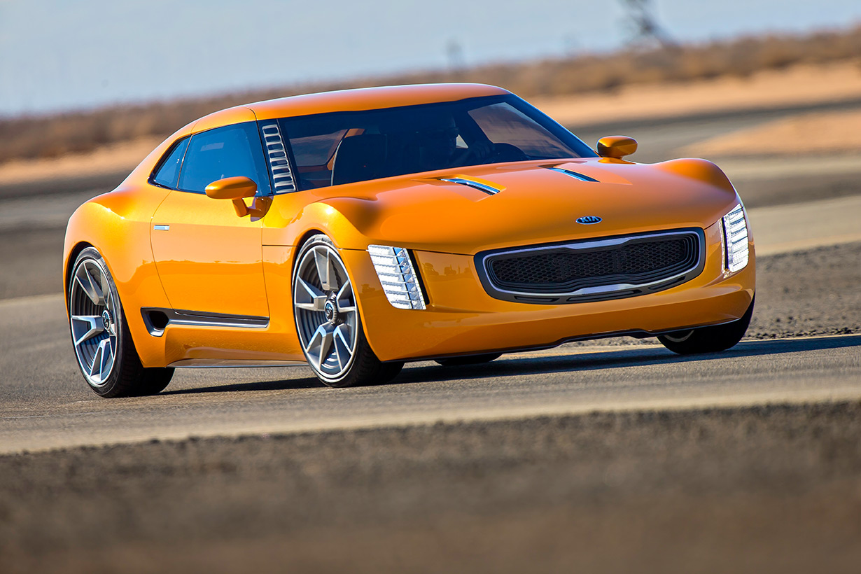 Detroit Michigan - KIA GT4 STINGER Concept's Overview