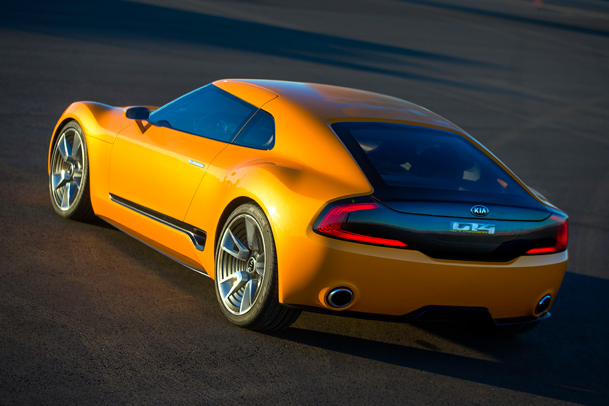 Colorado Dealer - KIA GT4 STINGER Concept's Overview