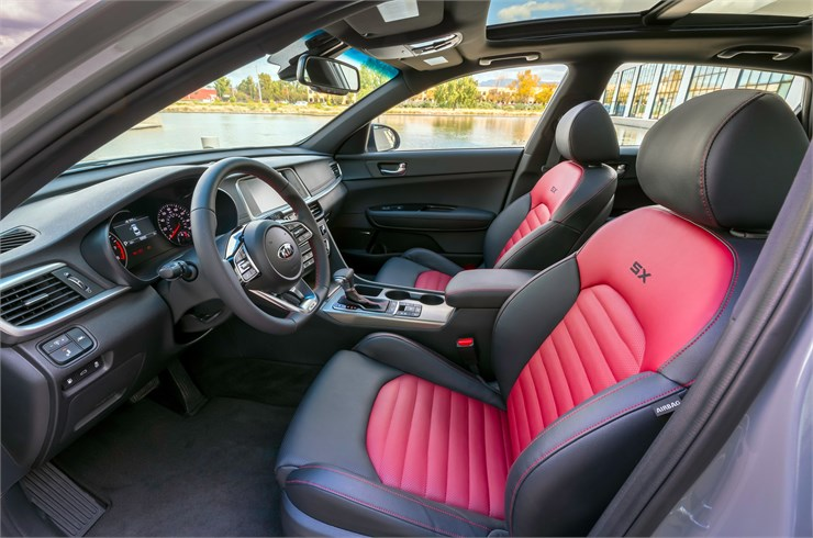 Denver Review - 2019 Kia Optima's Interior