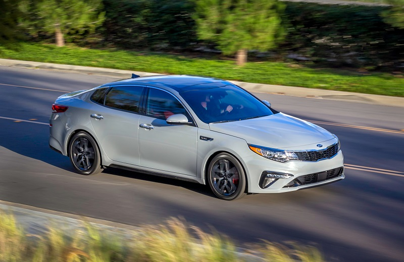 Raleigh NC - 2019 Kia Optima's Exterior