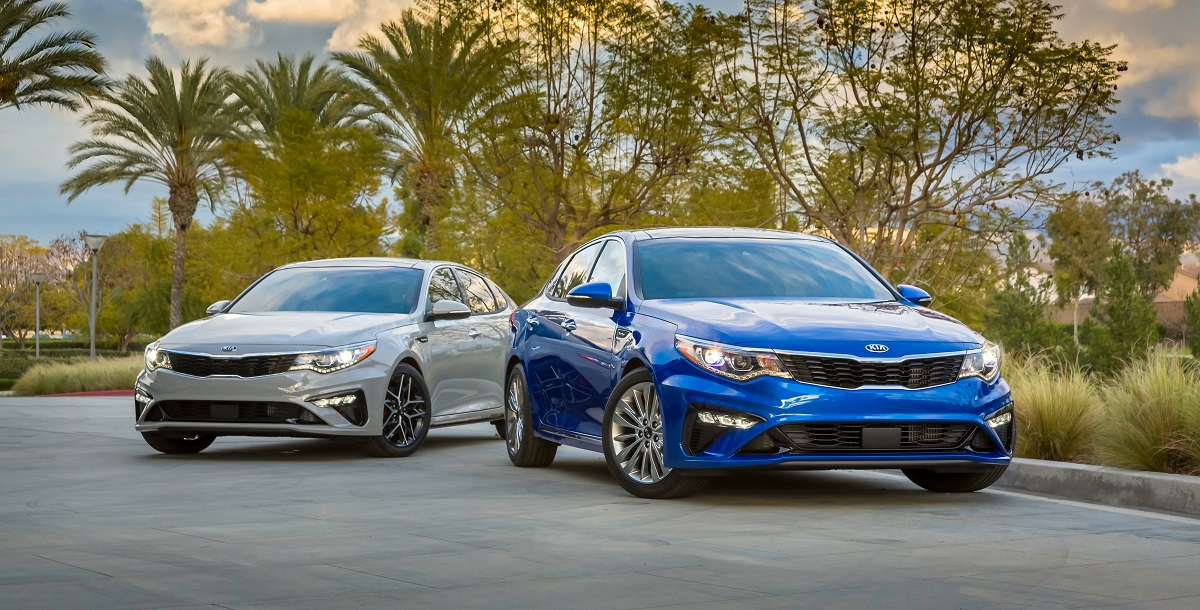 2019 Kia Optima vs 2018 Kia Optima - Burlington NC