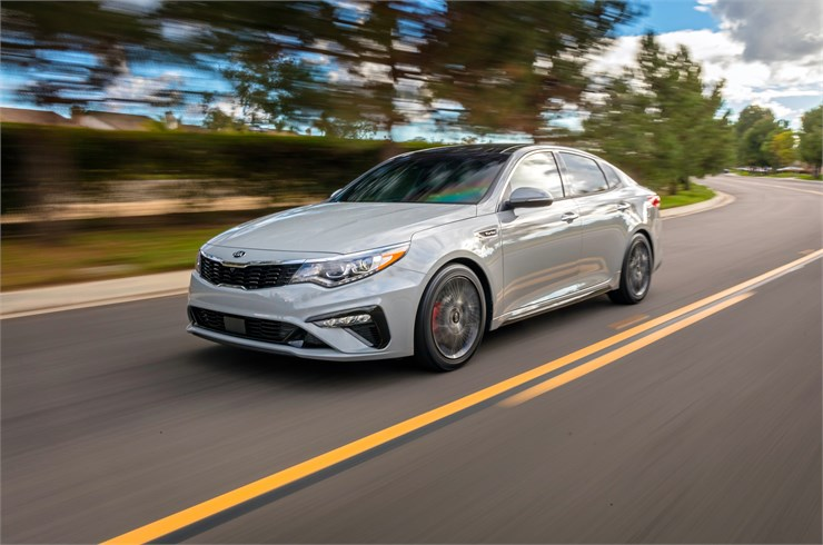Southfield Michigan - 2019 Kia Optima's Exterior