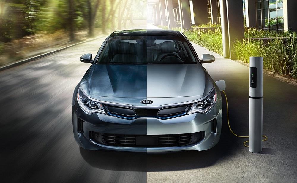 Greensboro NC - 2019 Kia Optima Plug-In Hybrid's Exterior